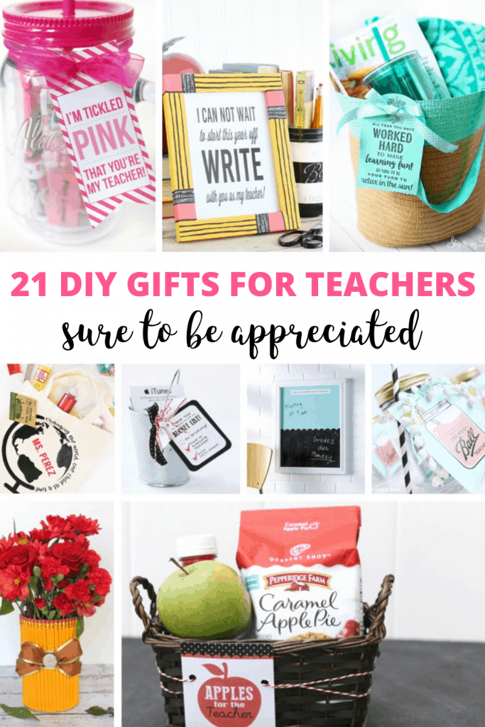 21 diy gifts for teachers
