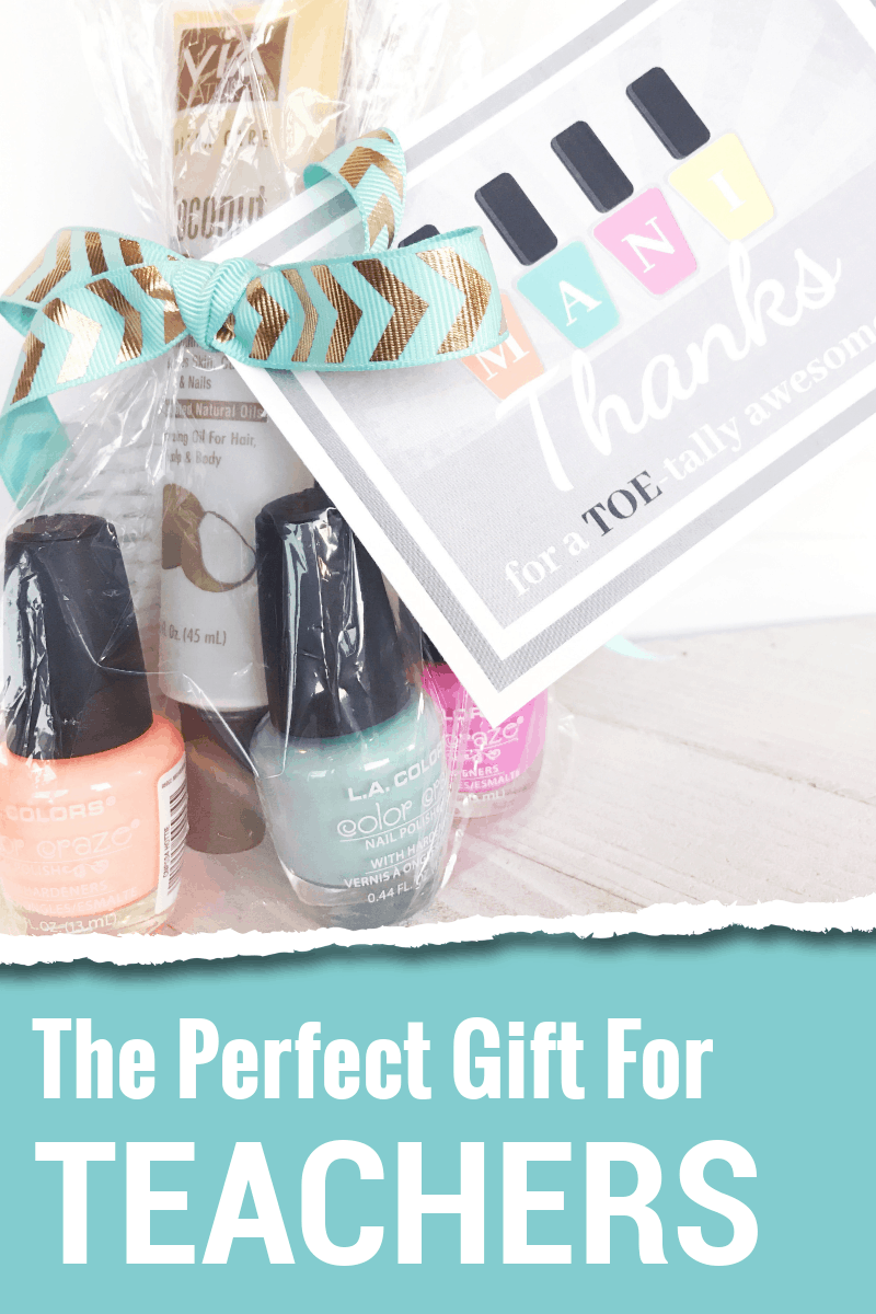 Give your teacher Mani Thanks for Teacher Appreciation Week